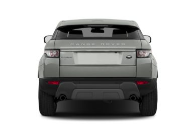 Rear Profile  2013 Land Rover Range Rover Evoque