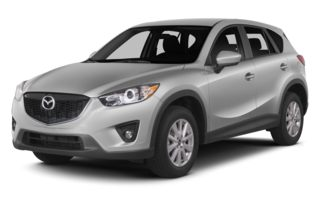 3/4 Front Glamour 2013 Mazda CX-5