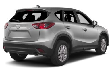 3/4 Rear Glamour  2013 Mazda CX-5