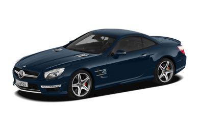3/4 Front Glamour 2013 Mercedes-Benz SL65 AMG