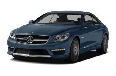 3/4 Front Glamour 2013 Mercedes-Benz CL65 AMG
