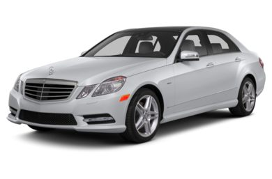 3/4 Front Glamour 2013 Mercedes-Benz E350