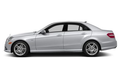 90 Degree Profile 2013 Mercedes-Benz E350