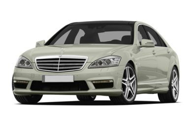 3/4 Front Glamour 2013 Mercedes-Benz S65 AMG