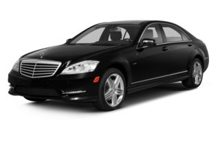 3/4 Front Glamour 2013 Mercedes-Benz S550
