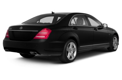 3/4 Rear Glamour  2013 Mercedes-Benz S550