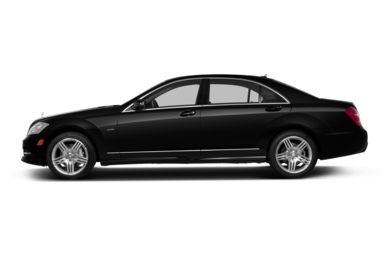 90 Degree Profile 2013 Mercedes-Benz S550