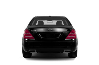Rear Profile  2013 Mercedes-Benz S550