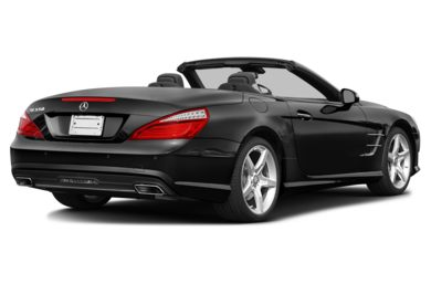 3/4 Rear Glamour  2014 Mercedes-Benz SL550