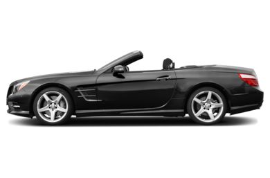 90 Degree Profile 2014 Mercedes-Benz SL550