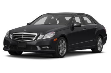3/4 Front Glamour 2013 Mercedes-Benz E550