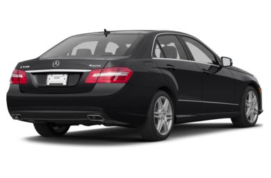3/4 Rear Glamour  2013 Mercedes-Benz E550