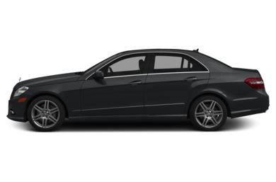 90 Degree Profile 2013 Mercedes-Benz E550