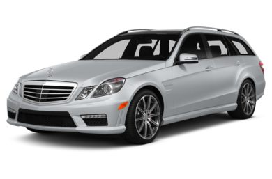 3/4 Front Glamour 2013 Mercedes-Benz E63 AMG