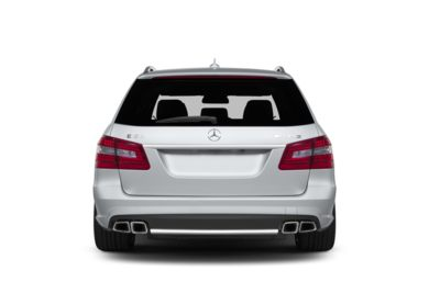 Rear Profile  2013 Mercedes-Benz E63 AMG