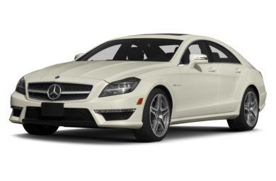 3/4 Front Glamour 2013 Mercedes-Benz CLS63 AMG