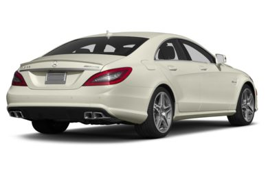3/4 Rear Glamour  2013 Mercedes-Benz CLS63 AMG