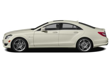 90 Degree Profile 2013 Mercedes-Benz CLS63 AMG