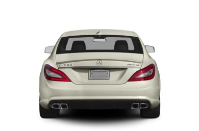 Rear Profile  2013 Mercedes-Benz CLS63 AMG