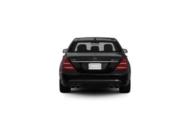 Surround Rear Profile 2013 Mercedes-Benz S63 AMG