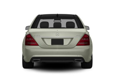 Rear Profile  2013 Mercedes-Benz S400 Hybrid