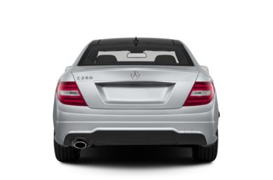 Rear Profile  2013 Mercedes-Benz C250