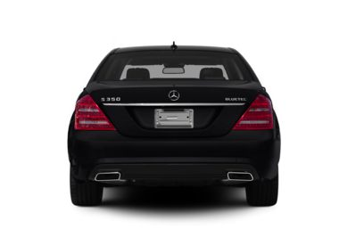 Rear Profile  2013 Mercedes-Benz S350 BlueTEC