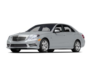 3/4 Front Glamour 2013 Mercedes-Benz E400 Hybrid