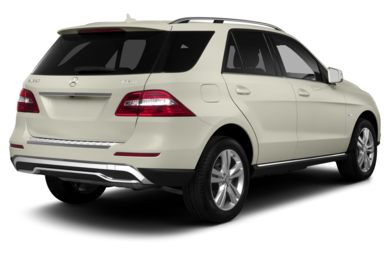 3/4 Rear Glamour  2013 Mercedes-Benz ML350