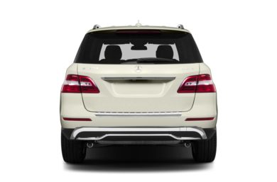 Rear Profile  2013 Mercedes-Benz ML350