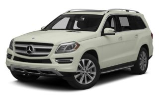 3/4 Front Glamour 2013 Mercedes-Benz GL450