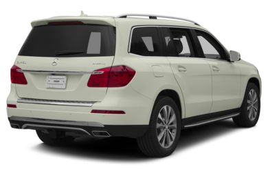 3/4 Rear Glamour  2013 Mercedes-Benz GL450