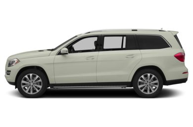 90 Degree Profile 2013 Mercedes-Benz GL450