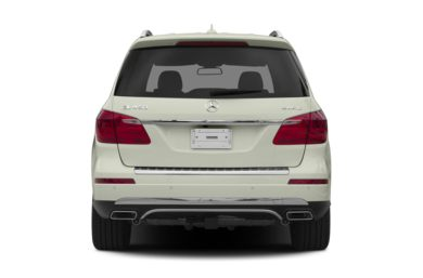 Rear Profile  2013 Mercedes-Benz GL450
