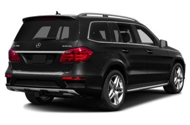 3/4 Rear Glamour  2013 Mercedes-Benz GL350 BlueTEC