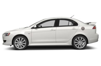 90 Degree Profile 2013 Mitsubishi Lancer