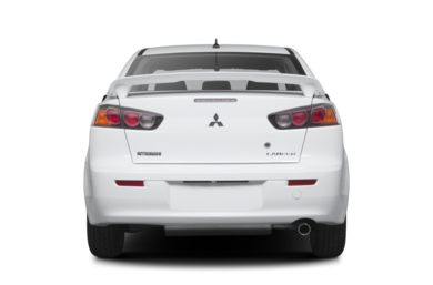 Rear Profile  2013 Mitsubishi Lancer