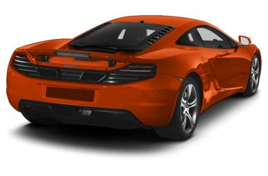 3/4 Rear Glamour  2013 McLaren MP4-12C