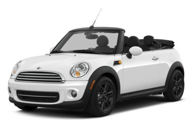 3/4 Front Glamour 2013 MINI Convertible