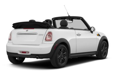3/4 Rear Glamour  2013 MINI Convertible