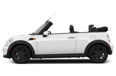 90 Degree Profile 2013 MINI Convertible