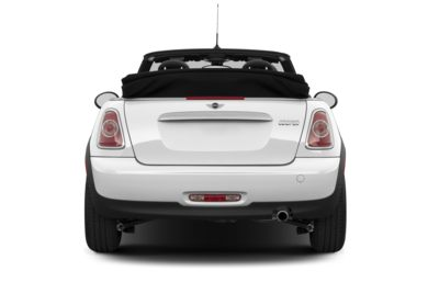 Rear Profile  2013 MINI Convertible