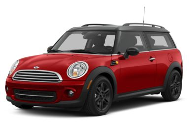 3/4 Front Glamour 2013 MINI Clubman