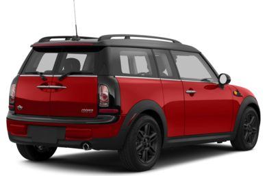 3/4 Rear Glamour  2013 MINI Clubman