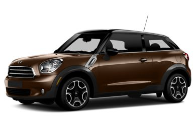 3/4 Front Glamour 2013 MINI Paceman