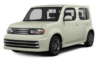 3/4 Front Glamour 2013 Nissan Cube