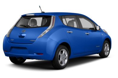 3/4 Rear Glamour  2013 Nissan LEAF