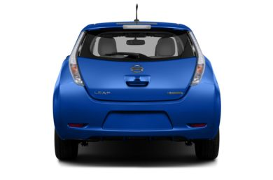 Rear Profile  2013 Nissan LEAF