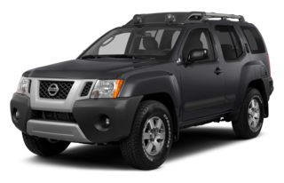 3/4 Front Glamour 2014 Nissan Xterra