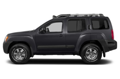 90 Degree Profile 2014 Nissan Xterra